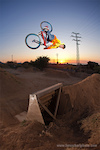 Antti alley-oop flairing into the Spanish sunrise... throwing some steez and height in the mix, too!