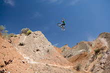 Eric Porter stepping it up in Utah filming for Kranked back in 2006