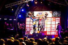 Round 1 of the Schwalbe 4X Pro tour at Houffalize, Belgium, 14 April 2012,