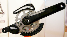 MRP Responds To SRAM XX1 With Three New Chainguides - Eurobike 2012