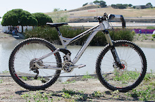 First Look: Hyper's Prototype All-Mountain Machine - Sea Otter 2013